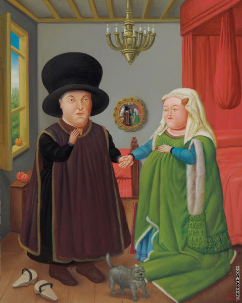 The Arnolfini (Botero)
