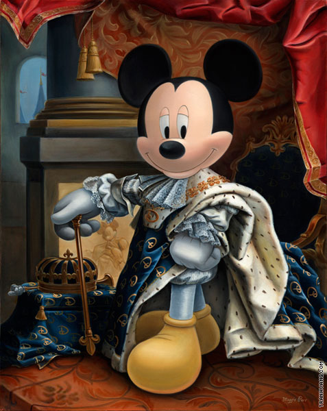 King Mickey XIV (after Rigaud)