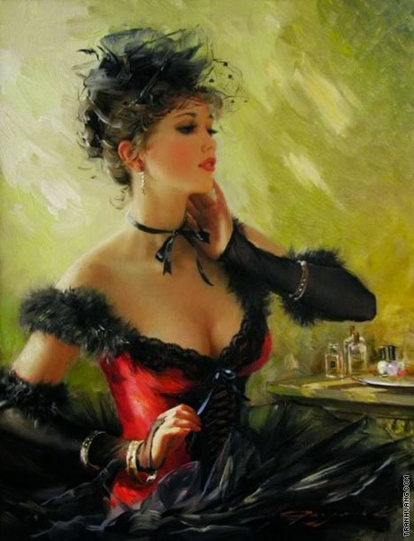 Dancer from the Moulin Rouge 2 (Razumov)