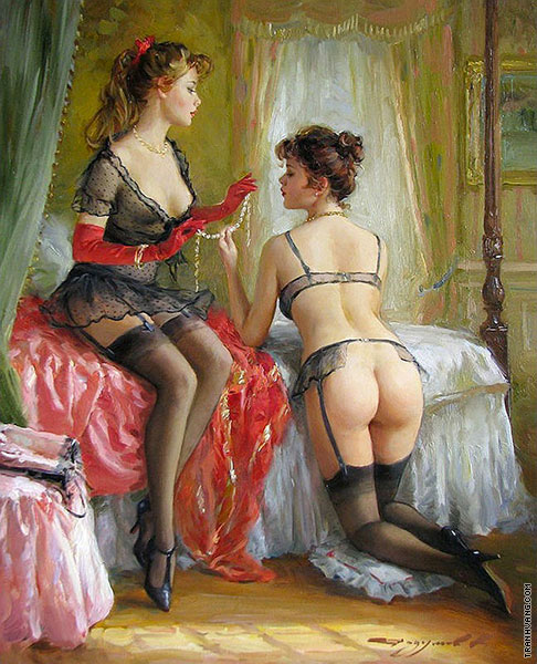 The Pearl Necklace (Razumov)