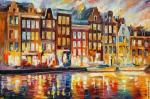 Evening in Amsterdam (Afremov)