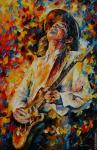 Stevie Ray Vaughan 1 (Afremov)