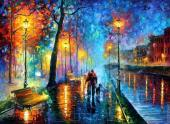 The melody of the night (Afremov)