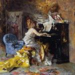 Woman at a Piano (Boldini)