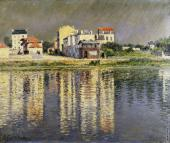 Banks of the Seine at Argenteuil (Caillebotte)