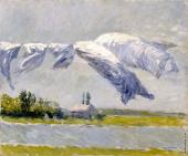 Drying Cloth - Petit Gennevilliers (Caillebotte)