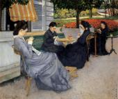 Portraits in the Countryside (Caillebotte)