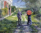 Rising Road (Caillebotte)