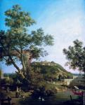 English Landscape with a Palace (Canaletto)