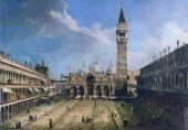 View of Piazza San Marco 4 (Canaletto)