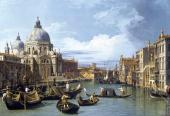 The Grand Canal and the Church of the Salute (Canaletto)