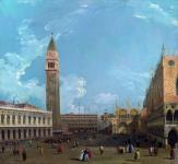 The Piazza San Marco from the Molo (Canaletto)