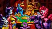 Ponies Playing Poker (after Coolidge)