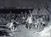 Dance of Crow Indians (Farny)