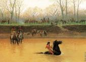 Breaking a Pony - Fording the Stream (Farny)