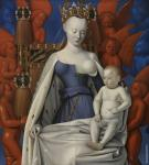 Virgin and Child Surrounded by Angels (Fouquet)