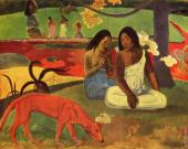 Arearea Joyousness (Gauguin)