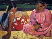 Two women on the beach (Gauguin)