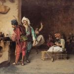 A Cafe in Cairo* (Gerome)