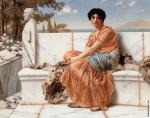 In the days of Sappho (Godward)