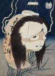 The Lantern Ghost - Iwa (Hokusai)