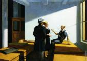 Conference at Night (Hopper)