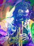 Miles Davis - Painter of Jazz (L.Glover)