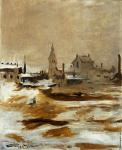 Effect of snow at Petit-Montrouge (Manet)