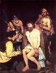 Jesus mocked by the soldiers (Manet)