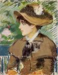 Young Girl on a Bench (Manet)
