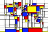 World Map (Mondrian)