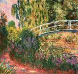 The garden of Giverny (Monet)