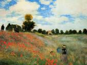 The poppies at Argenteuil (Monet)