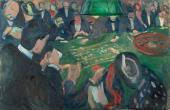 At the Roulette Table in Monte Carlo (Munch)
