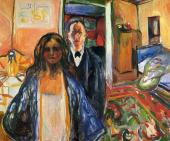 The Artist and his Model (Munch)