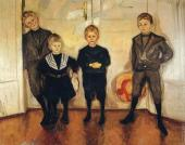 The Four Sons of Dr. Linde (Munch)