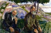 Two Old Men (Munch)
