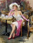 A Parisian with Pink Gloves (Razumov)