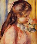 Bust of a young girl (Renoir)