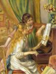 Girls with the piano (Renoir)
