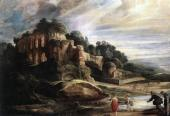 Landscape with the Ruins of Mount Palatine in Rome (Rubens)