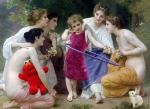 Admiration (After Bouguereau)