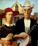 American Gothic with Guitars (After Wood)