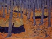 Breton Women - The Meeting in the Sacred Grove (Sérusier)