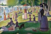 A Sunday Afternoon on the Island of La Grande Jatte (Seurat)