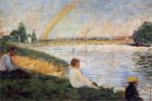 Bathing at Asnieres - Rainbow (Seurat)