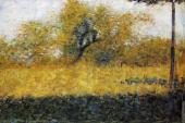 Edge of Wood - Springtime (Seurat)