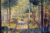 Forest Path - Barbizon (Seurat)
