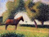 Horse and Cart (Seurat)