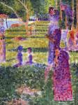 La Grande Jatte - The Couple (Seurat)